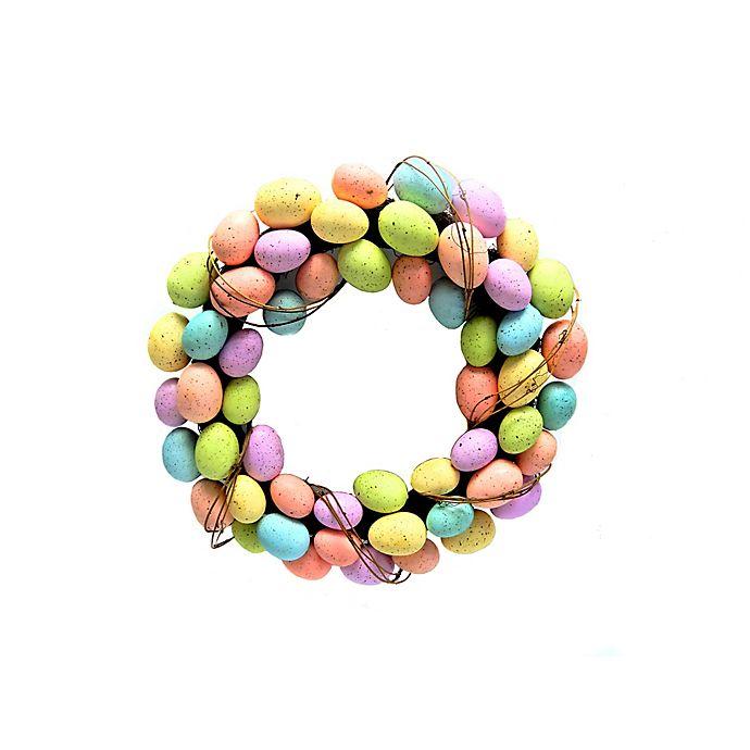 Alternate image 1 for 20-Inch Easter Egg Wreath