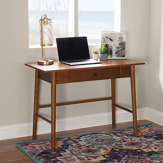 Alternate image 1 for Linon Home Charlotte Desk in Brown