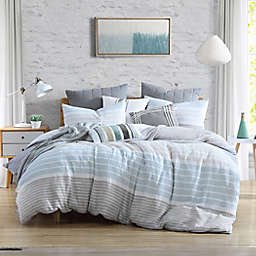 Cordelia Stripe 3-Piece Duvet Cover Set