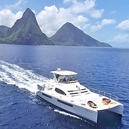 St. Lucia Private Luxury Catamaran Charter Cruise by Spur Experiences®