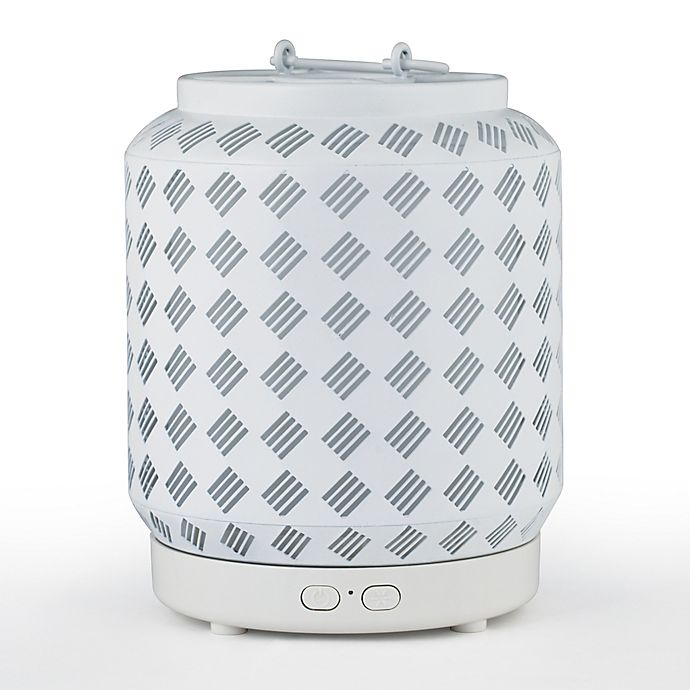 Alternate image 1 for SpaRoom® Luster Rechargeable Essential Oil Diffuser in White