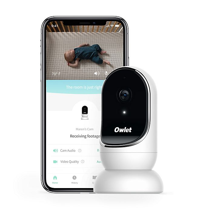 Alternate image 1 for Owlet Cam Smart HD Video Baby Monitor