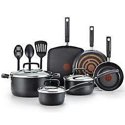 T-fal® Signature Nonstick Aluminum 12-Piece Cookware Set
