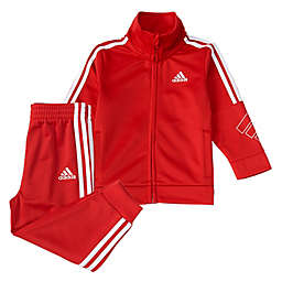 adidas® Size 6-9M Event 20 Tricot Tracksuit Set in Red