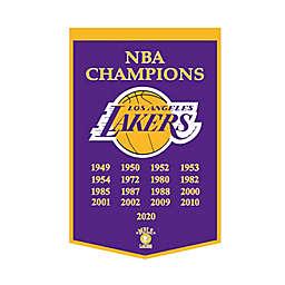 NBA Los Angeles Lakers NBA Finals Champions Dynasty Banner