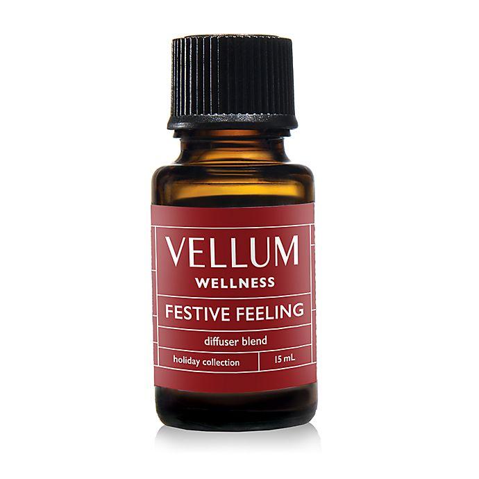 Alternate image 1 for Vellum Wellness Festive Feeling Holiday Diffuser Blend