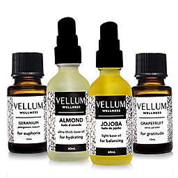 Vellum Wellness Deluxe Skin+Hair 4-Piece Essential Oil Kit