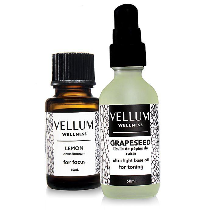 Alternate image 1 for Vellum Wellness Super Focus 2-Piece Essential Oil Kit