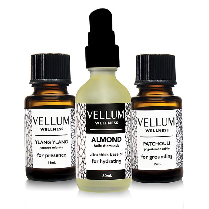 Alternate image 1 for Vellum Wellness Natural Aphrodisiac 3-Piece Essential Oil Kit