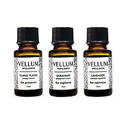 Vellum Wellness Floral 3-Piece Essential Oil Bundle