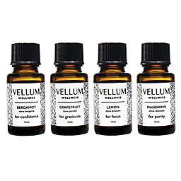 Vellum Wellness Citrus 4-Piece Essential Oil Bundle