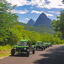Thrill and Chill Complete St. Lucia Island Tour by Spur Experiences®