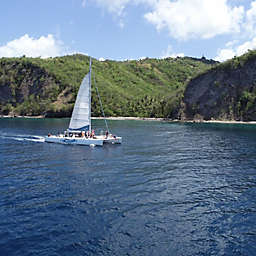 St. Lucia Soufriere Sapphire Falls Hike and Cruise by Spur Experiences®