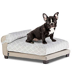 Club Nine Belmont Large Orthopedic Dog Bed in Beige