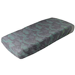 Copper Pearl™ Hunter Changing Pad Cover in Green