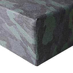 Copper Pearl® Hunter Premium Crib Sheet in Green