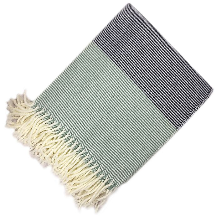 Alternate image 1 for Bee & Willow™ Home Woven Colorblock Throw Blanket