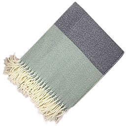 Bee & Willow™ Home Woven Colorblock Throw Blanket