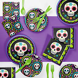 Creative Converting 73-Piece Day of the Dead Party Supplies Kit