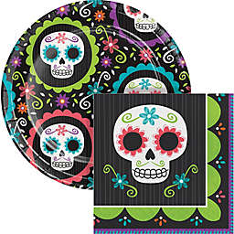 Creative Converting 72-Piece Day of the Dead Snack Party Kit