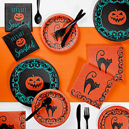 Creative Converting 73-Piece Halloween Symbols Party Supplies Kit