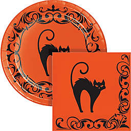 Creative Converting 72-Piece Halloween Symbols Snack Party Kit