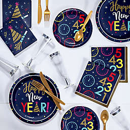 Creative Converting™ 240-Piece New Year Countdown Deluxe Party Supplies Kit