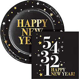 Creative Converting® 72-Piece Golden New Year Snack Kit