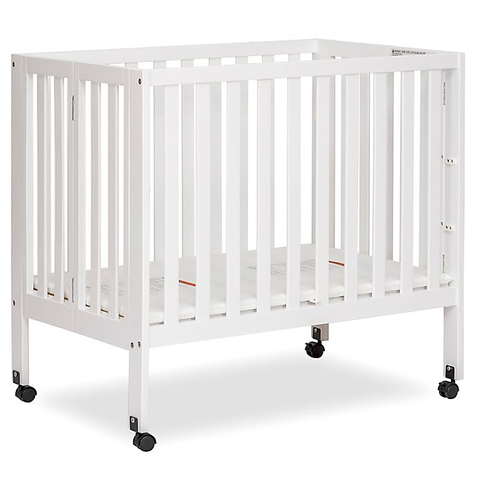 Alternate image 1 for Dream On Me Jett Mini Portable Folding Crib