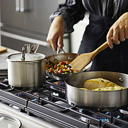 KitchenAid® Nonstick 3-Ply Stainless Steel Cookware Collection
