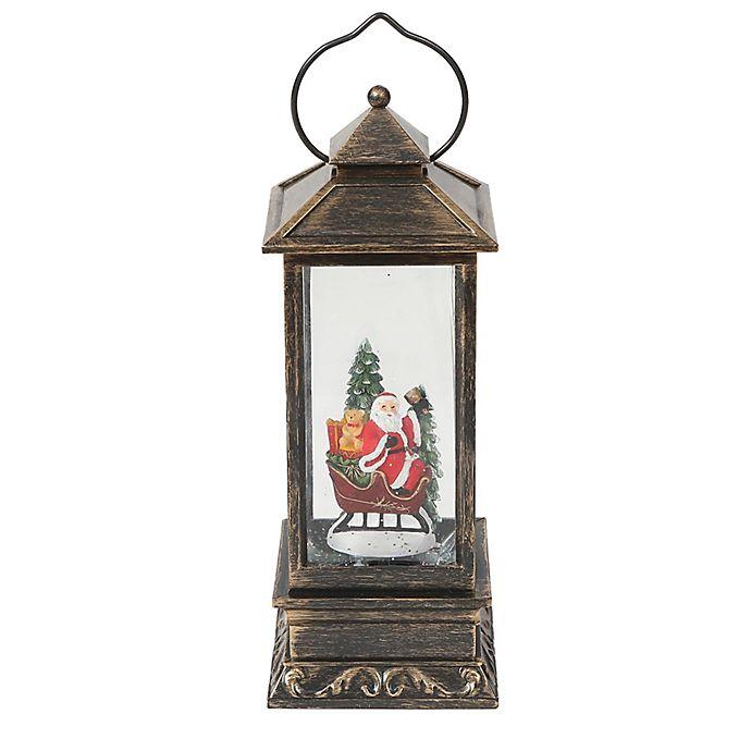 Alternate image 1 for Luxen Home 12.2-Inch Santa Sleigh LED Lantern Decoration
