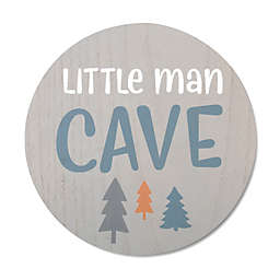 "Wendy Bellissimo™ 12-Inch x 8-Inch ""Little Man Cave"" Wall Art in Blue"