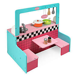 Badger Basket 10-Piece Doll Retro Diner and Kitchen Set
