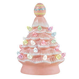 Assorted 5-Inch Mini Vintage Ceramic LED Easter Tree