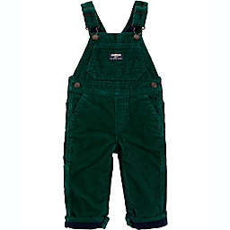 carter's® Size 12M Corduroy Overalls in Green