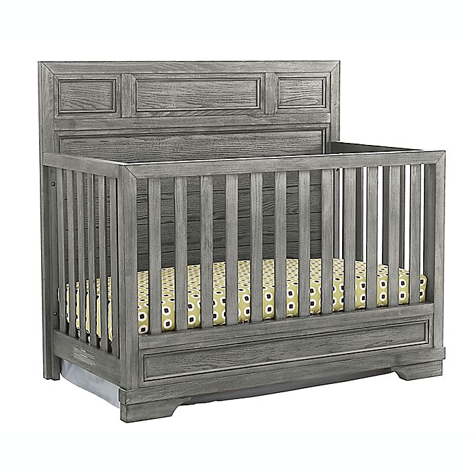 Alternate image 1 for Westwood Design Foundry 4-in-1 Convertible Crib in Brushed Pewter
