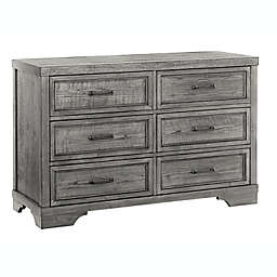 Westwood Design Foundry 6-Drawer Dresser in Pewter