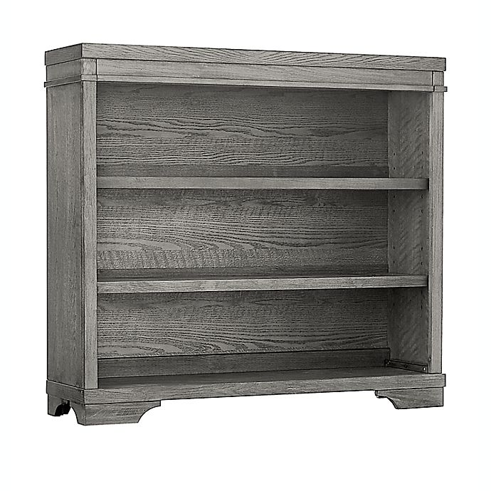 Alternate image 1 for Westwood Design Foundry Hutch/Bookcase in Brushed Pewter