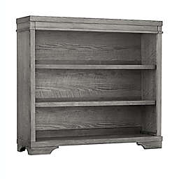 Westwood Design Foundry Hutch/Bookcase in Brushed Pewter