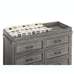 Westwood Design Foundry Changer Top in Brushed Pewter