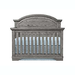 Westwood Design Foundry Arch Top 4-in-1 Convertible Crib in Brushed Pewter