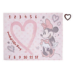 Disney® Minnie Mouse Milestone Baby Blanket in Pink