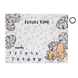 Disney® Lion King Simba Milestone Baby Blanket in Grey