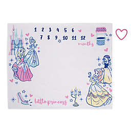 Disney® Princess Milestone Baby Blanket in Pink