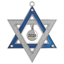 Harvey Lewis™ Star of David 2020 Hanukkah Ornament with Crystals from Swarovski®