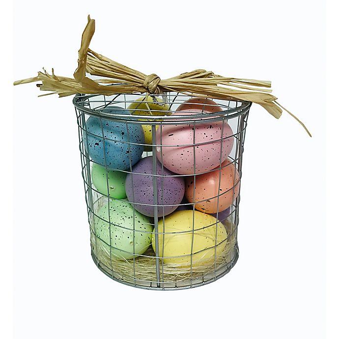 Alternate image 1 for 4.75-Inch Caged Egg Easter Basket