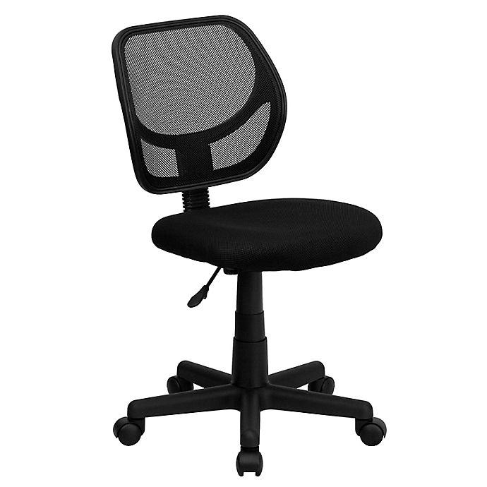 Alternate image 1 for Flash Furniture Mesh Low Back Swivel Task Chair