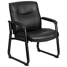 Flash Furniture Big & Tall Side Chair with Sled Base