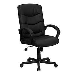 Flash Furniture Mid Back  Swivel Task Chair in Black