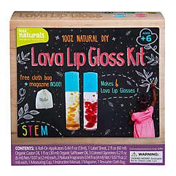 Kiss Naturals DIY Lava Lip Gloss Making 15-Piece Kit